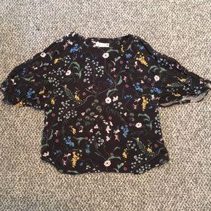 H&M flower blouse 🧚🏻♂️